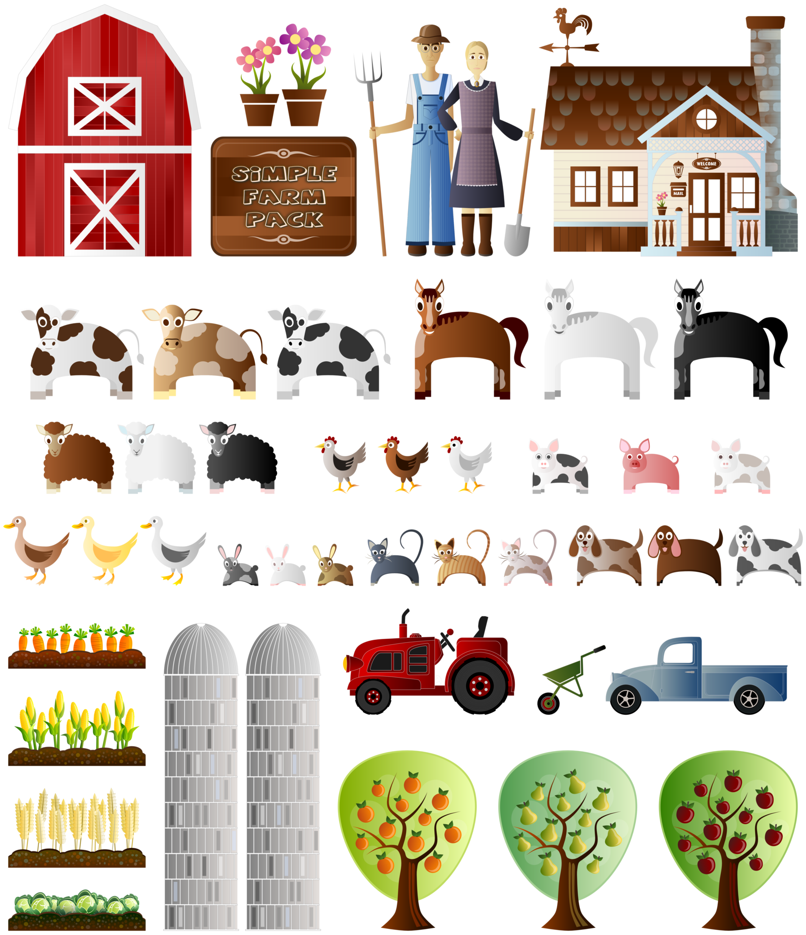 Product vector farming. Png royalty free