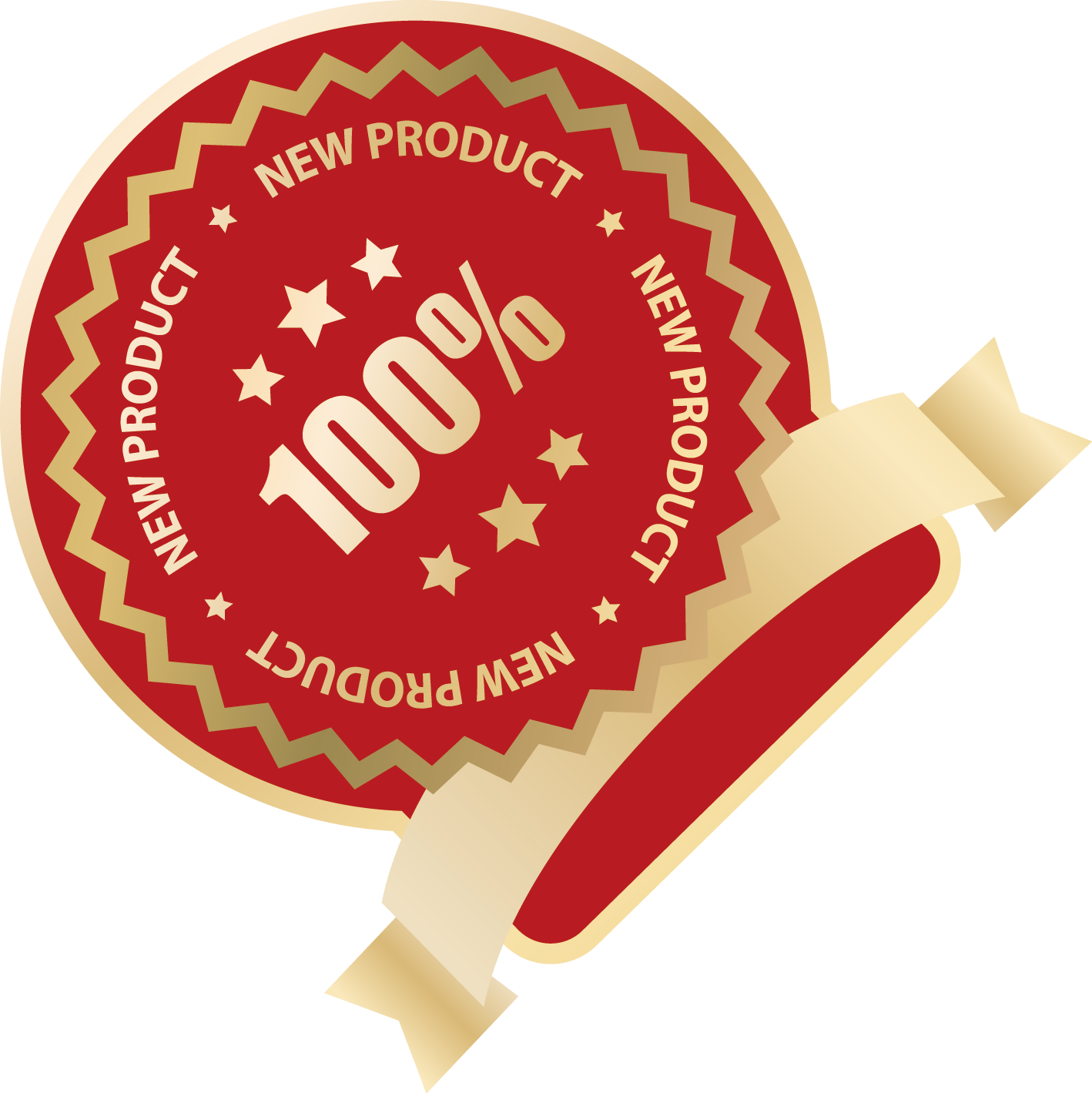 Product vector new. Red euclidean label ribbon