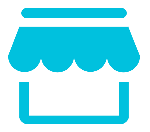 Product vector super market. Resource shipment icon with