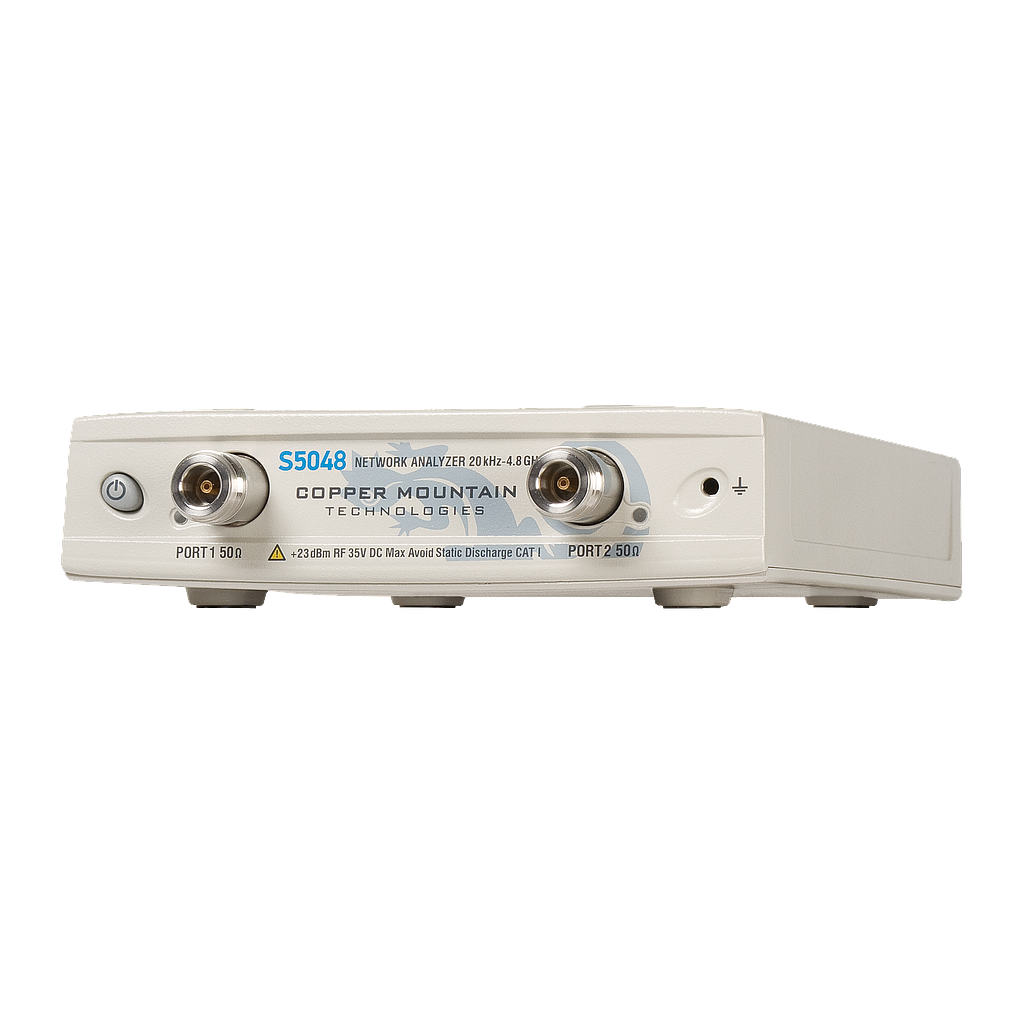 Product vector technology. S network analyzer copper