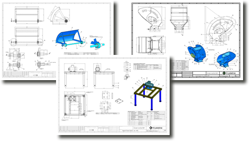 Production drawing product design. Research designs engineering consultancy