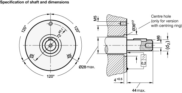 Production drawing pulley shaft assembly. Safety handwheels gn operating