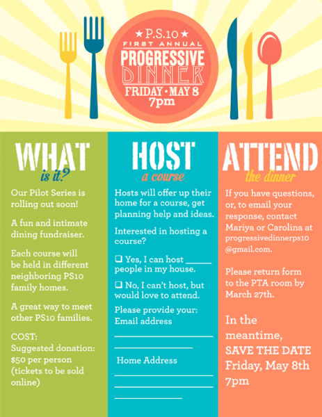 Ps s st annual. Progressive dinner png clip download