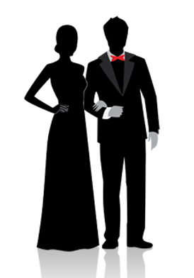 Prom clipart prom court. Class of overview