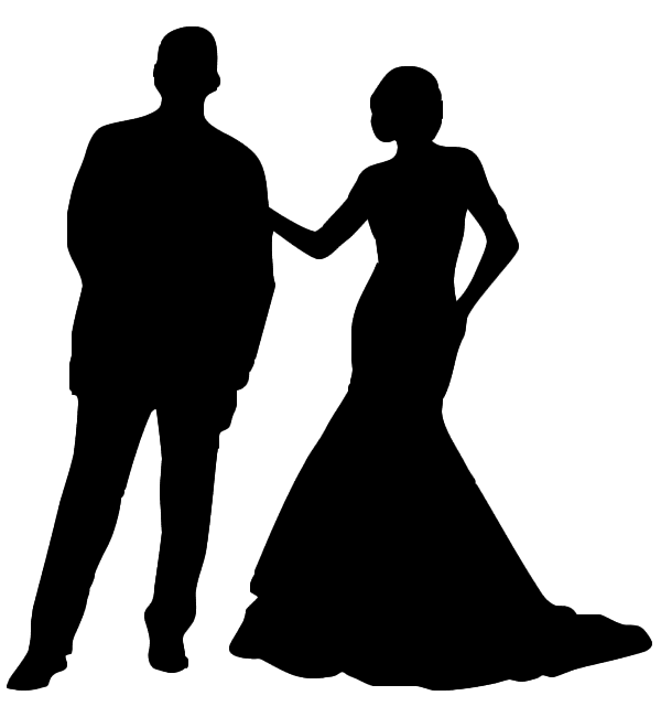 Prom couple png. Drawing clip art transprent