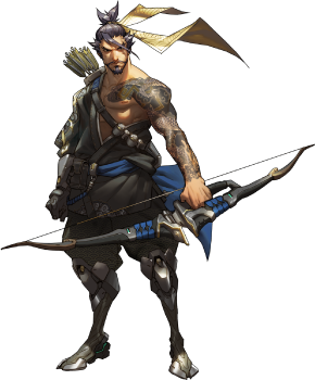 Prometheus drawing arrow. Hanzo overwatch wiki