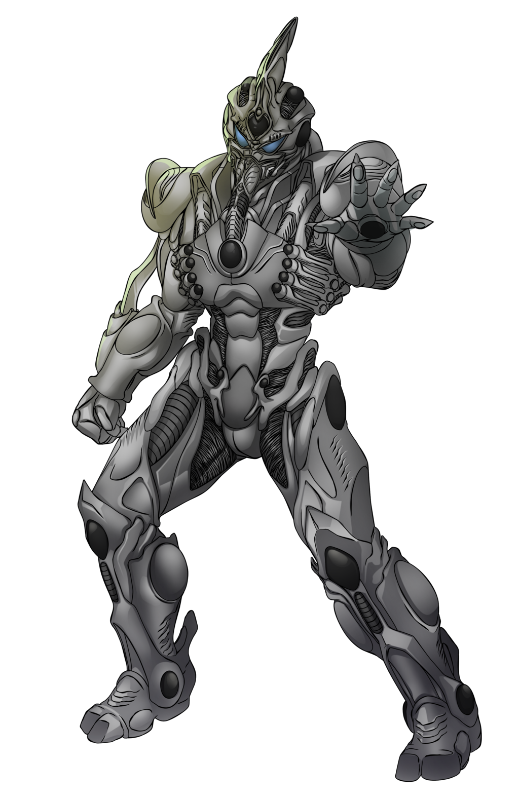 Prometheus drawing sculptural. Guyver by tyrantking on