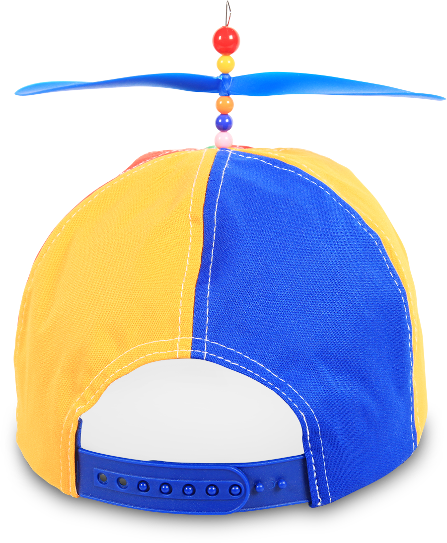 Helicopter hat png. Questacon helicap