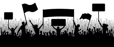 Protest clipart. Cilpart exclusive crowd protesting