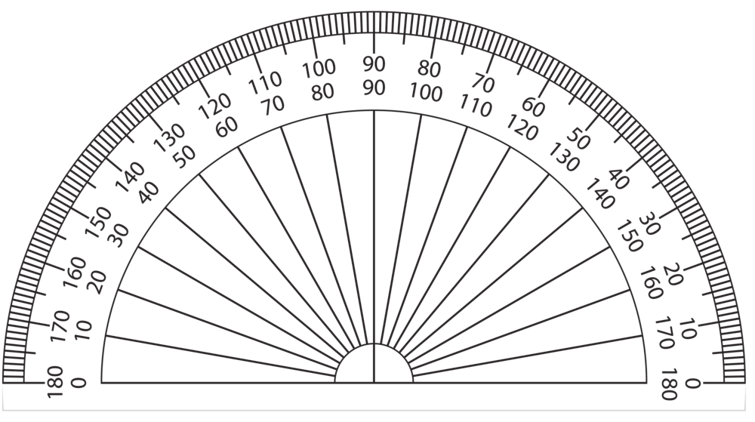 Protractor vector transparent. Drawing at getdrawings com
