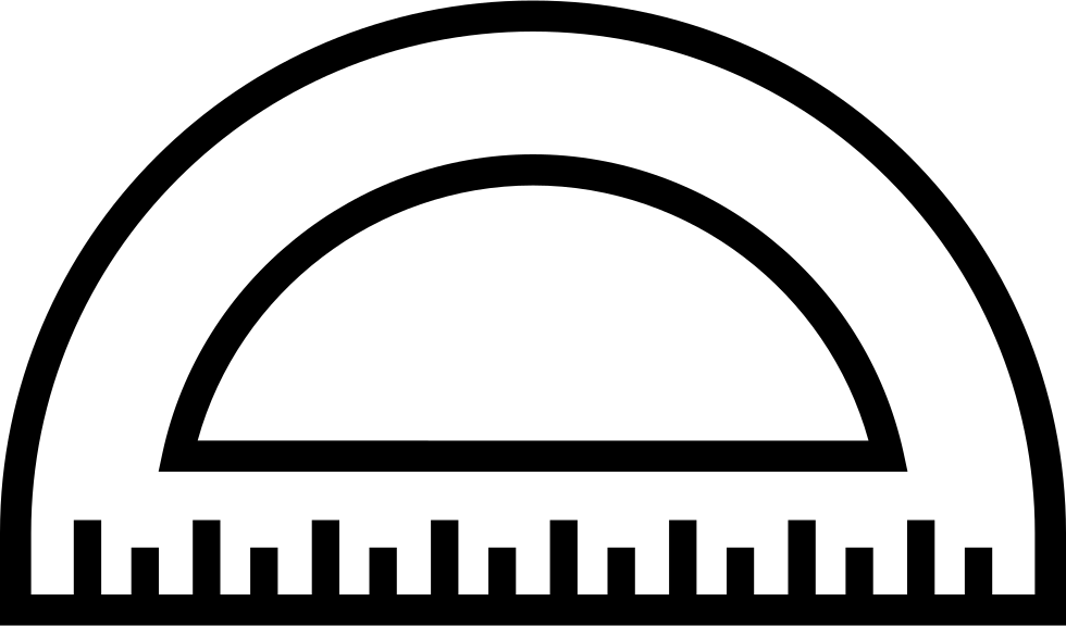 protractor drawing svg