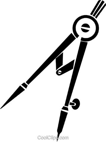 clip black and. Protractor vector compass jpg library library