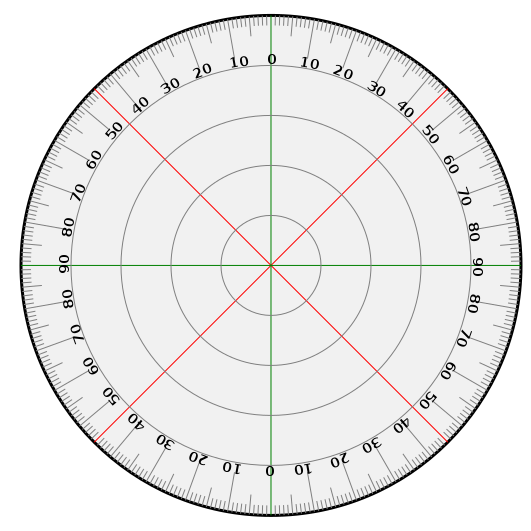 Protractor vector pdf. File svg wikimedia commons