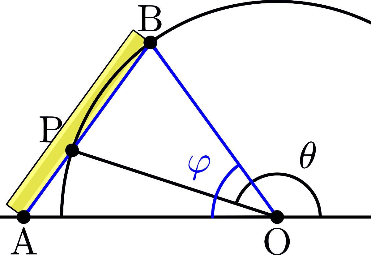 Protractor vector degree marking. Angle trisection wikipedia