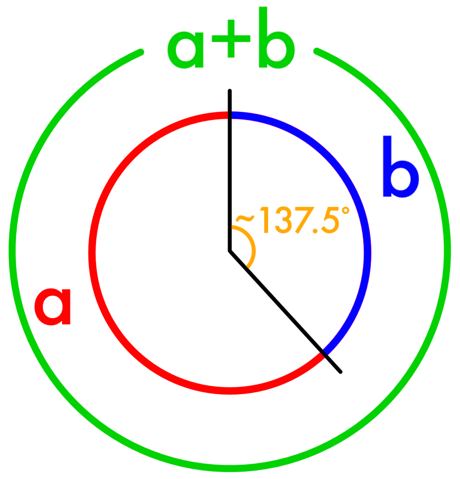 Protractor vector simple. Golden angle color png