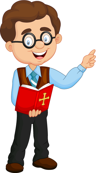 Proud clipart teaching method. Religion teacher male methods