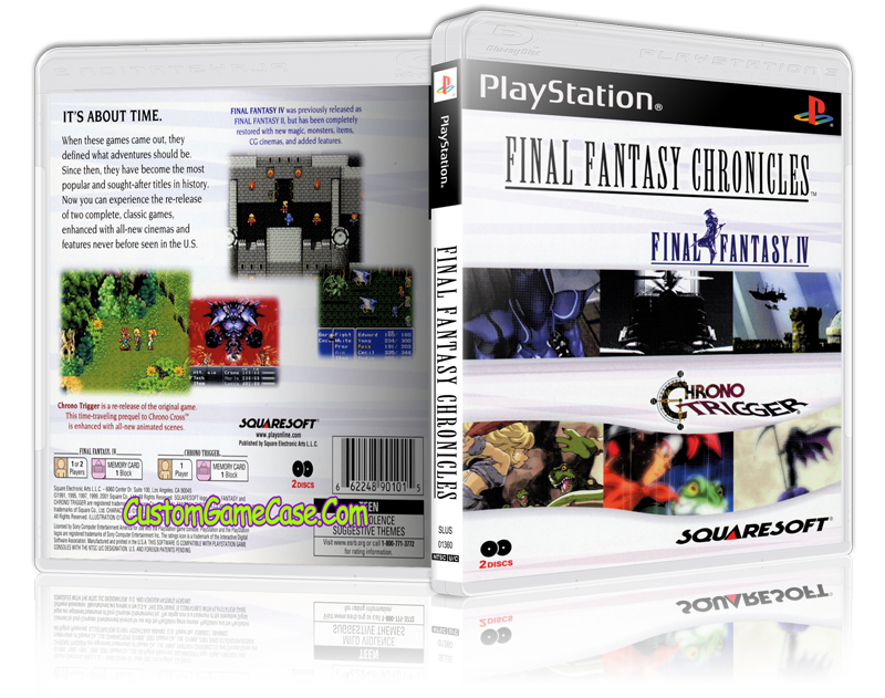 Ps1 final fantasy 5 cover png. Chronicles sony playstation psx