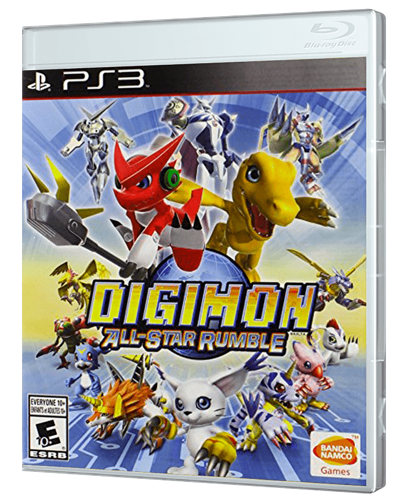Ps3 games png. Digimon all star rumble