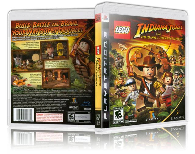 Ps3 games png. Lego indiana jones the
