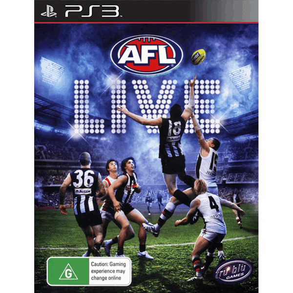 Ps3 games png. Afl live preowned eb