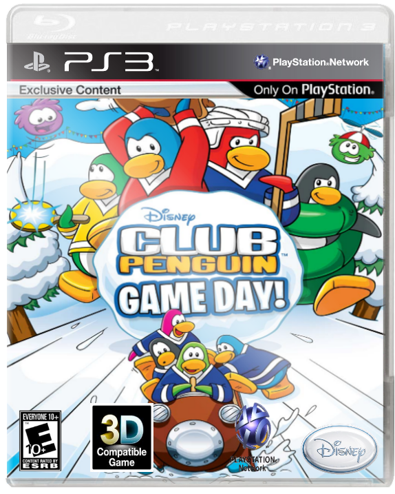 Ps3 games png. Image club penguin game