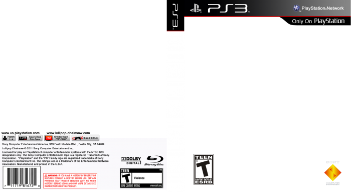Ps3 spine png. Index of cdn playstationgamecovertemplatepng