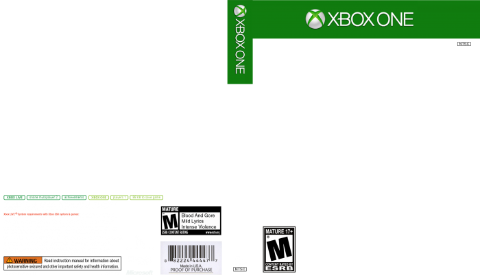 Ps3 spine png. Xbox cover template april