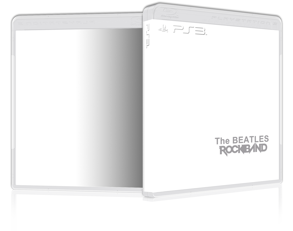 Ps3 spine png. Custom cover art minimalist