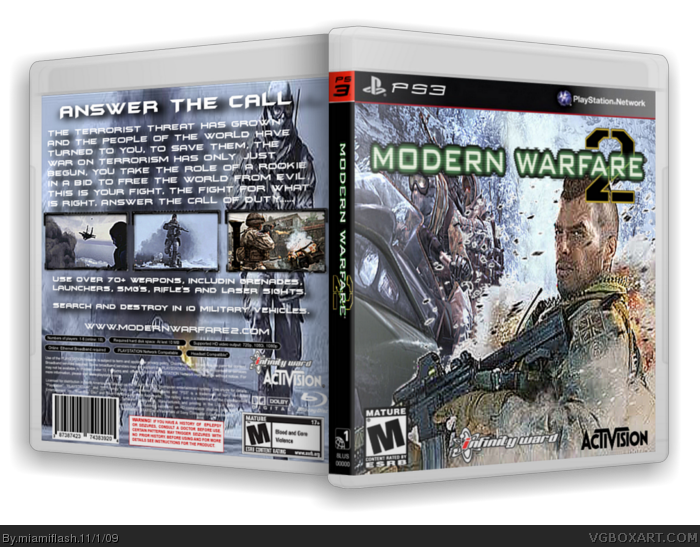 Ps3 spine png. Call of duty modern