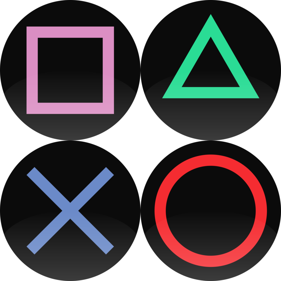Ps4 buttons png. Playstation by whovianbron on