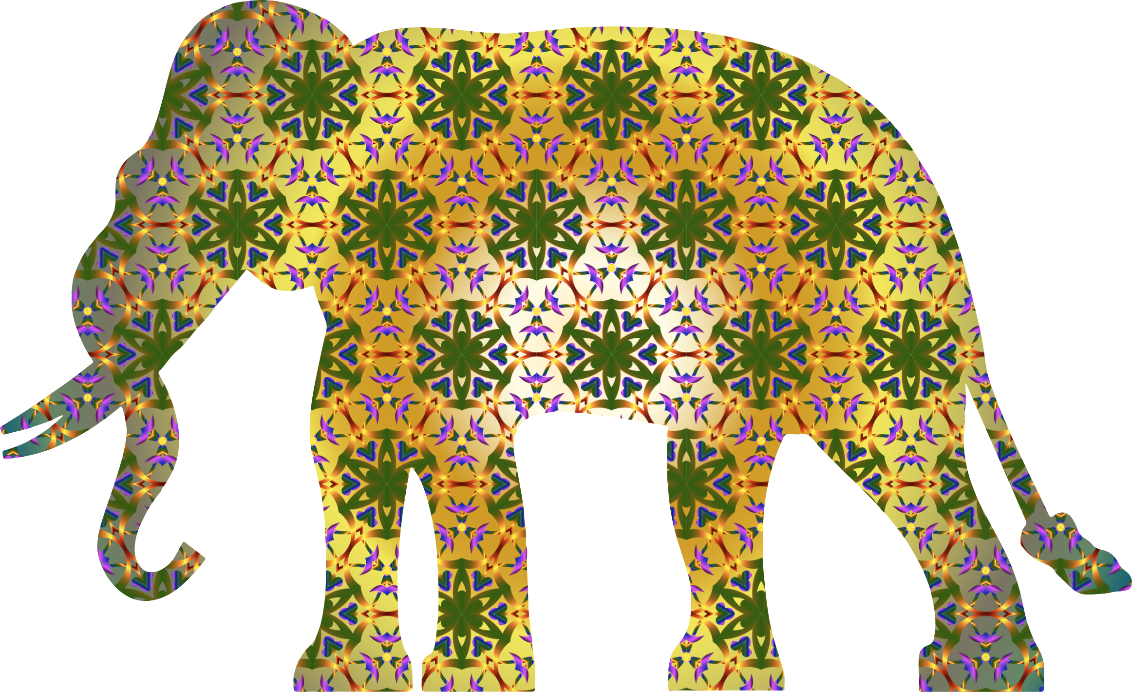 Psychedelic patterns png. Pattern elephant icons free
