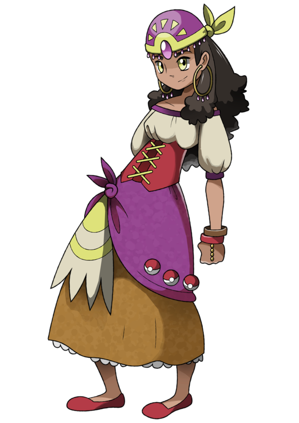 Psychic drawing trainer pokemon. Gym leader aishe old