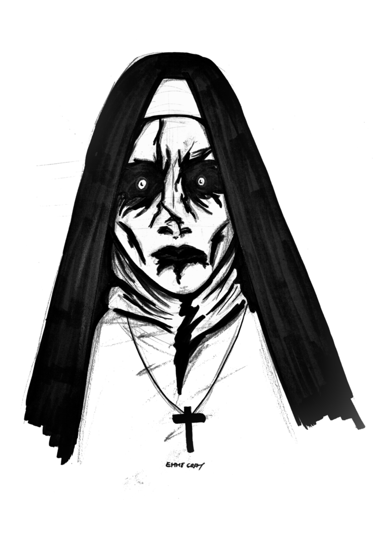 Psychic drawing valak. Twitch request by emme