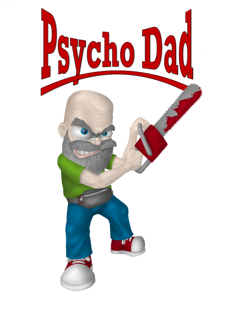 Psycho dad png. By gogszi on deviantart