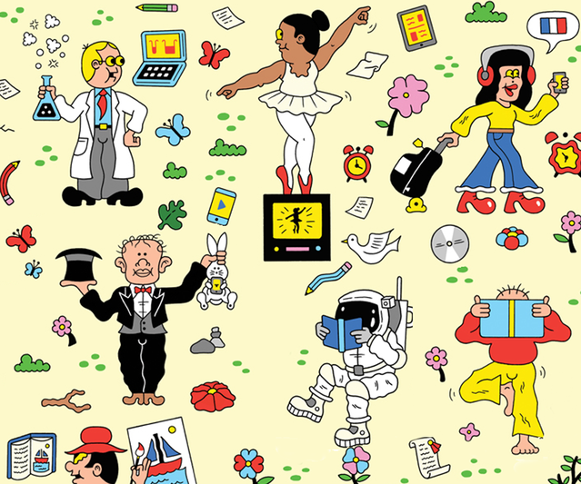 Psychology clipart independent study. The golden age of