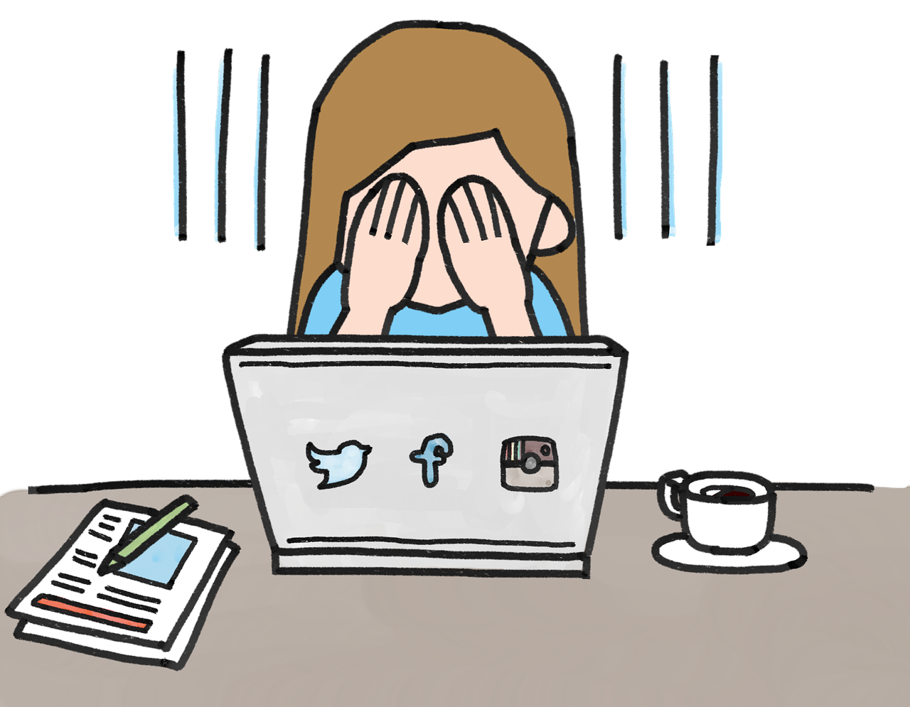 Psychology clipart independent study. The of social media
