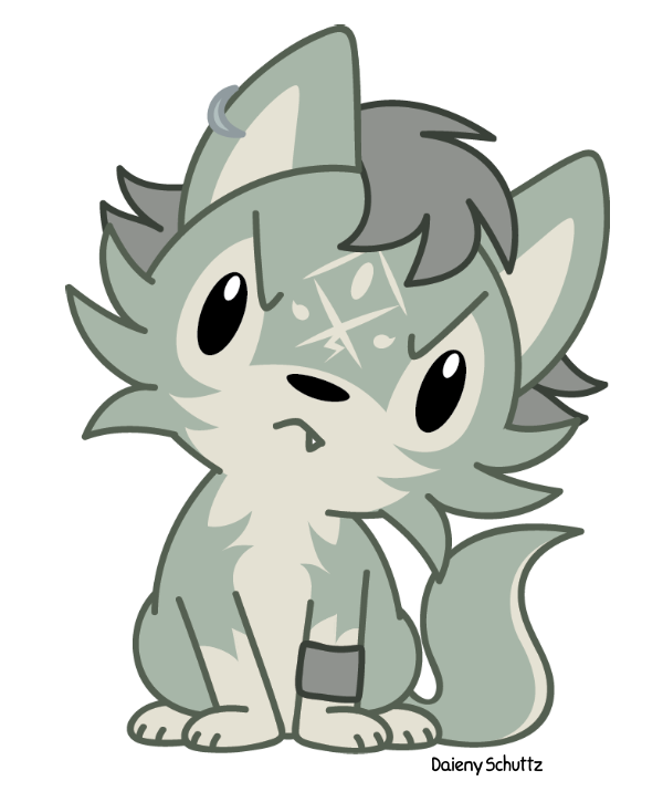 Pua drawing chibi. Wolf link by daieny