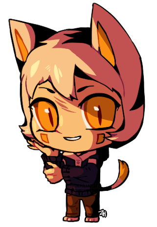 Pua drawing chibi. Ezno comm example by