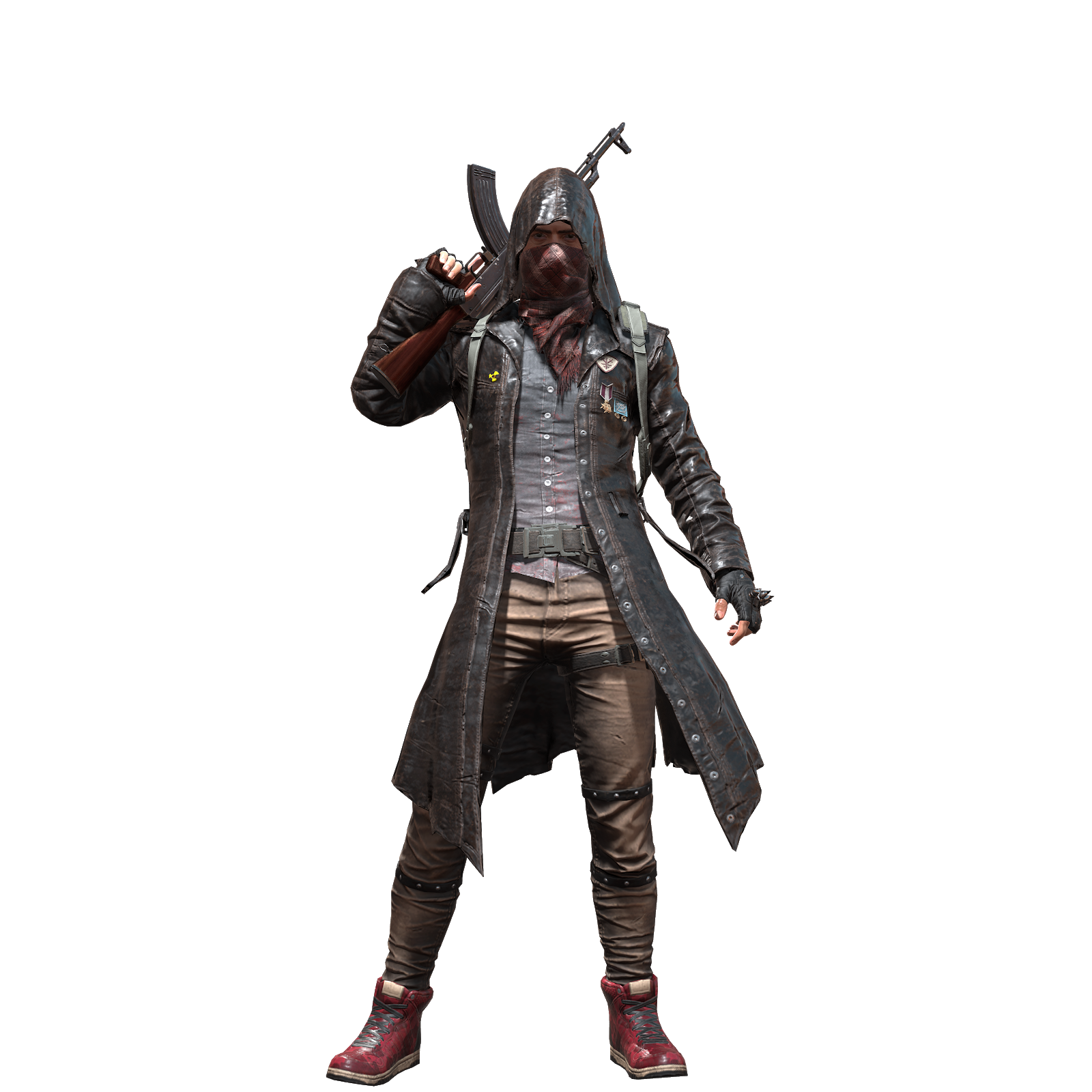 Pubg character png. Playerunknown set pioneer shirt