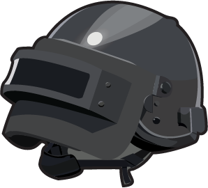 I m learning how. Pubg lvl 3 helmet png image black and white stock