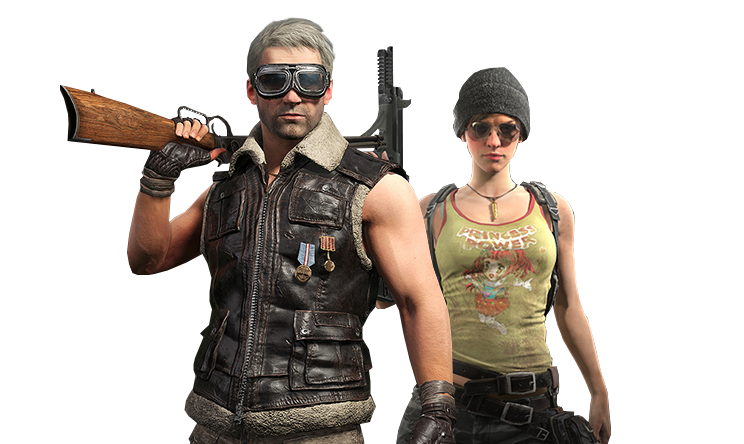 Playerunknowns battlegrounds transparent image. Pubg player png black and white download