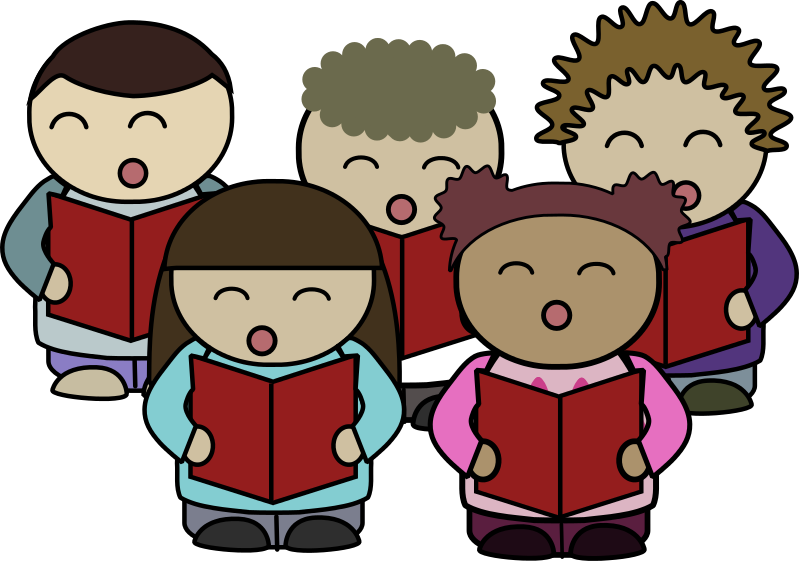Singer vector kids. Free to use public