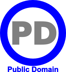 Public domain clipart banner library library