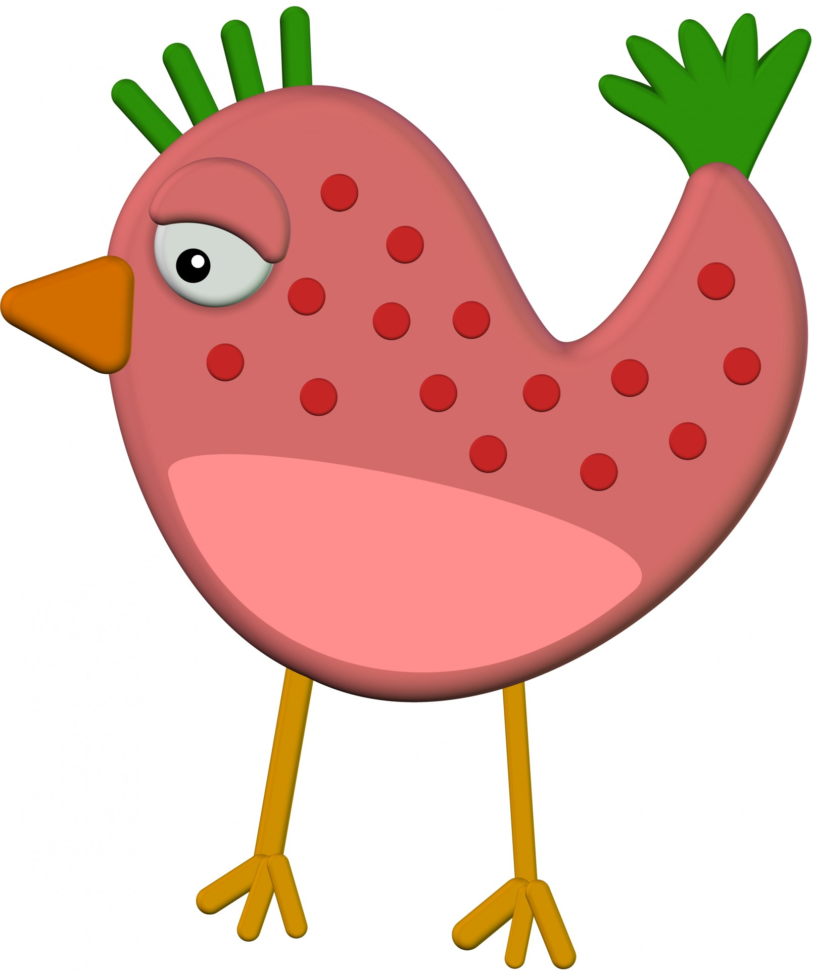 Public domain clipart bird. D chicken free