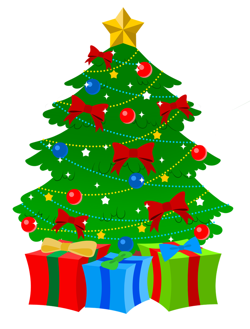 Arts free to use. Toys vector christmas tree banner