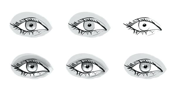 Public domain clipart pretty eye. Eyeball coloring pages terrific