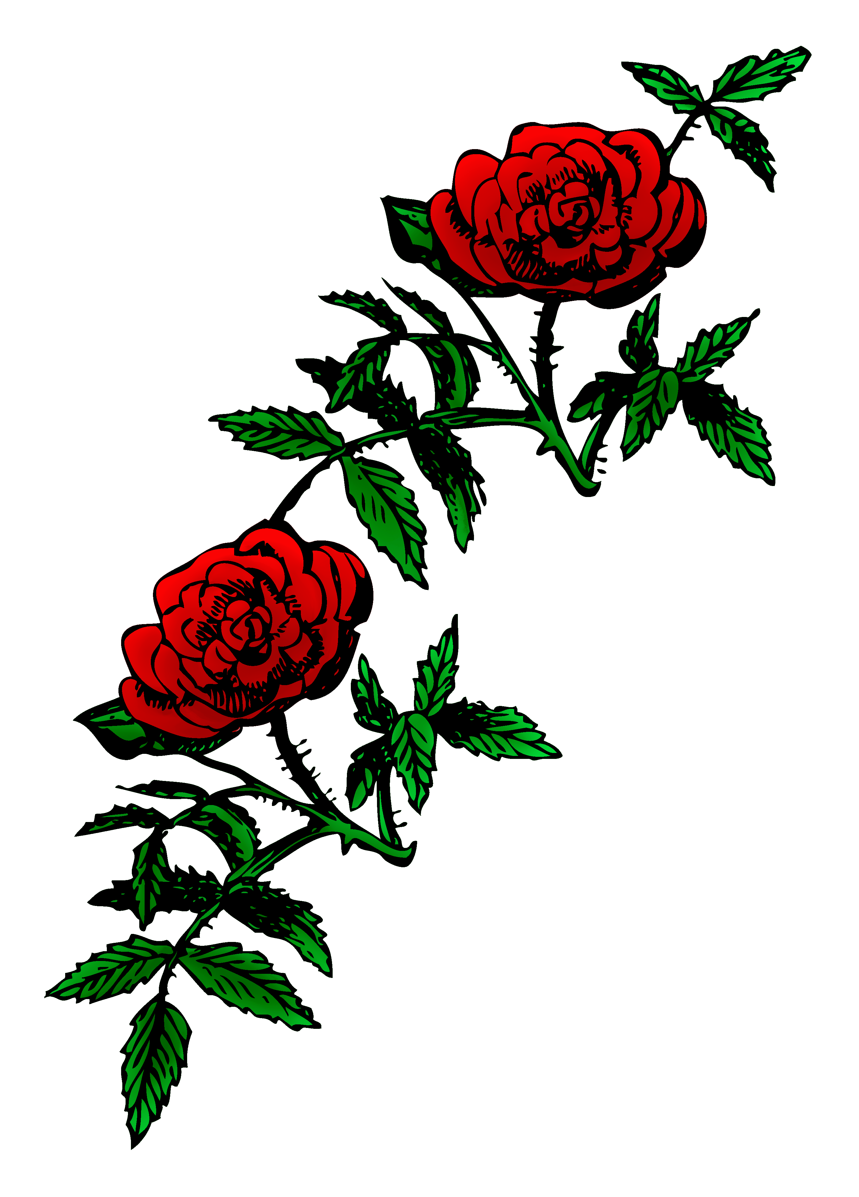 Public domain clipart red rose. Roses clip art sweet