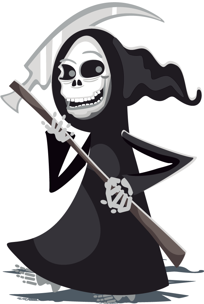 Transparent reaper detailed. Download free to use