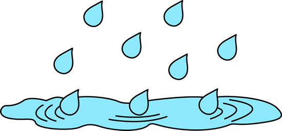 Puddle clipart.