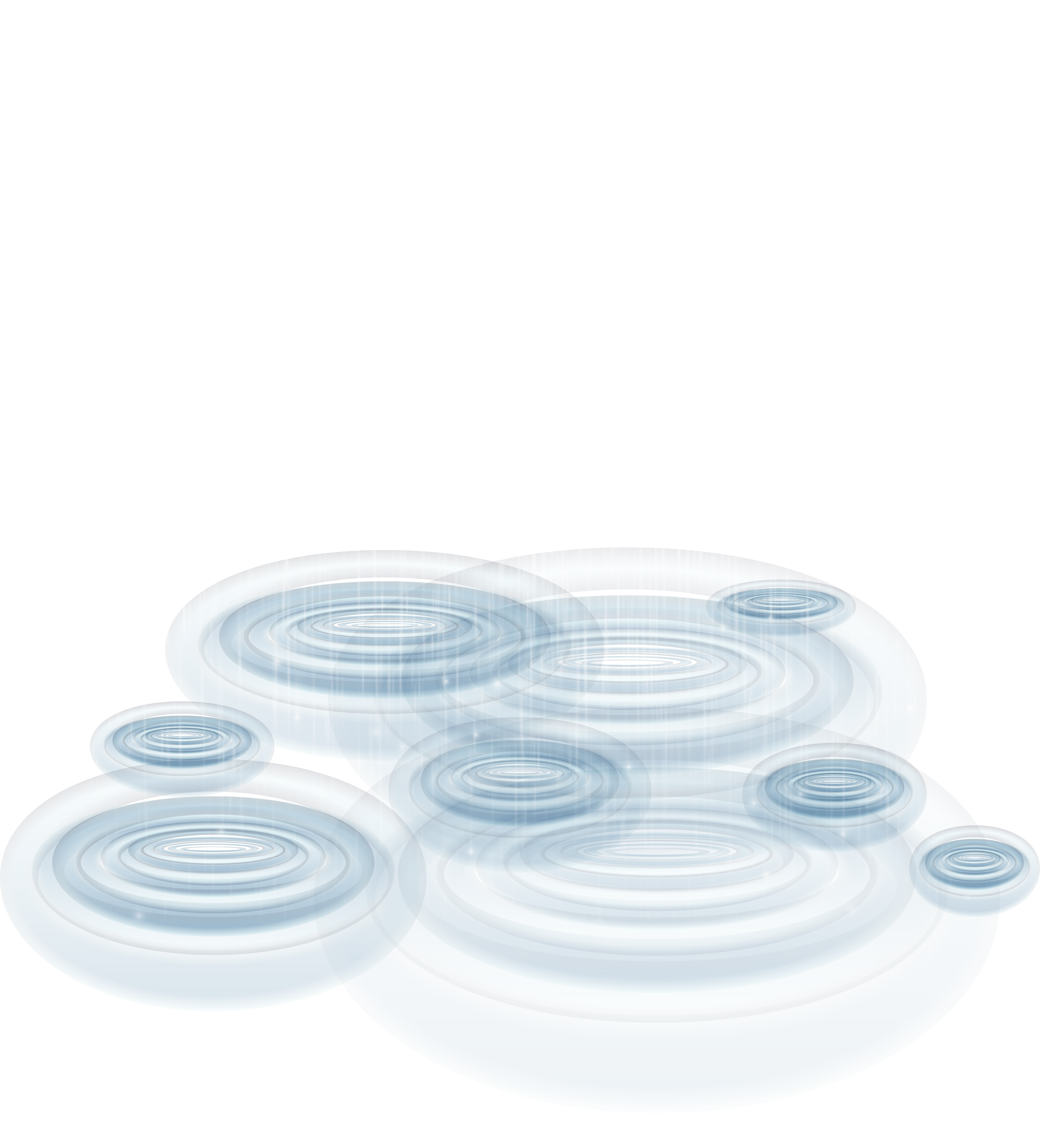 Rain with puddles transparent. Puddle clipart freeuse stock
